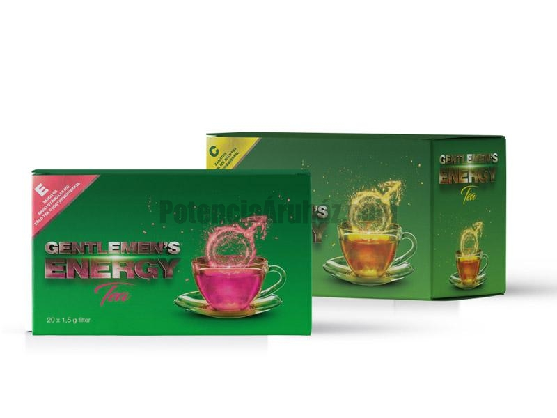 Gentlemen's Energy zöld tea