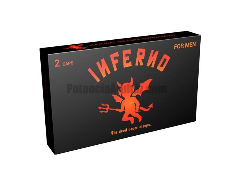 Inferno potencianövelő kapszula
