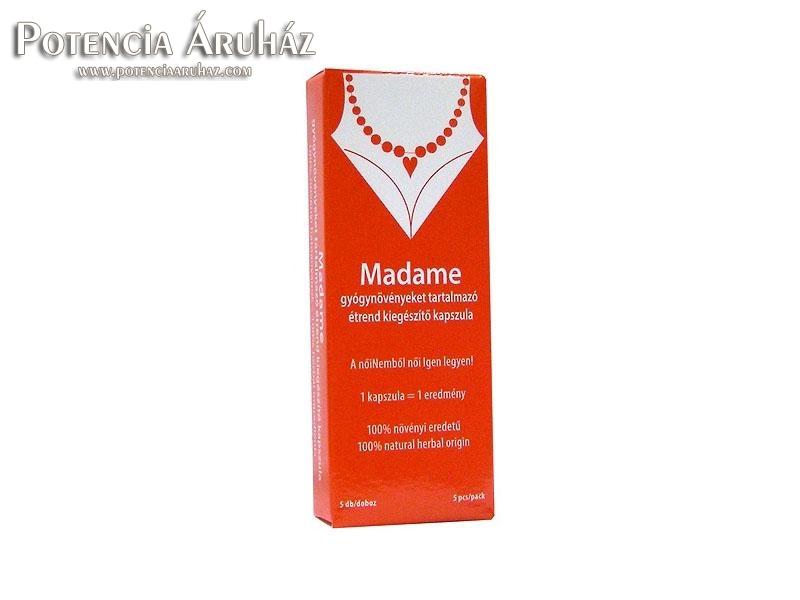 Madame vágyfokozó