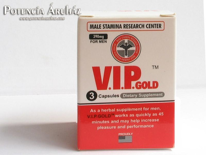 V.I.P. Gold potencianövelő