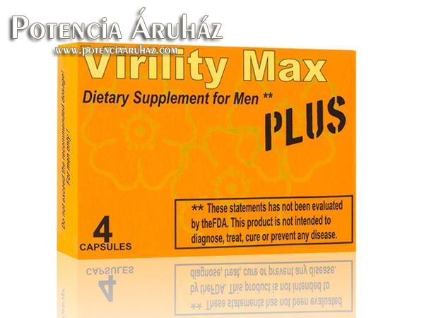 Virility Max Plus potencianövelő